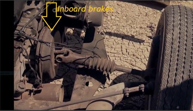 Inboard brakes
